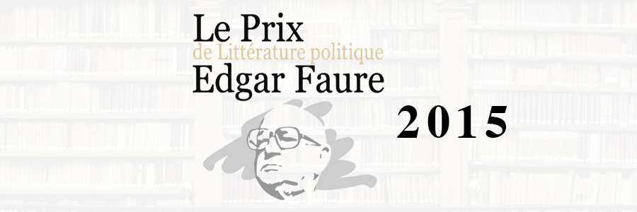 prix edgar faure 2015