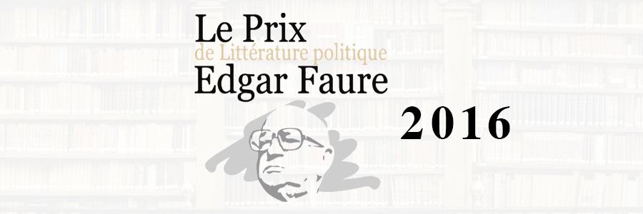 prix edgar faure 2016