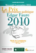 brochure prix edgar faure 2010