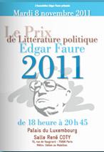 brochure prix edgar faure 2011