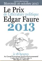 brochure prix edgar faure 2013