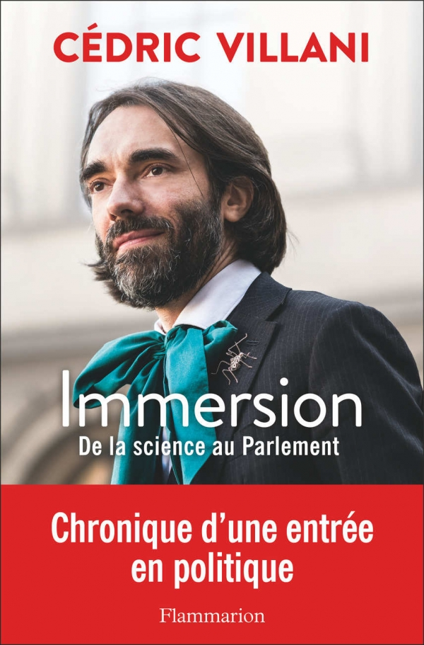 livre immersion de la science au parlement